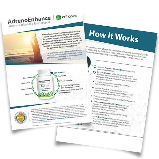 Adreno Enhance Product Patient Flyer