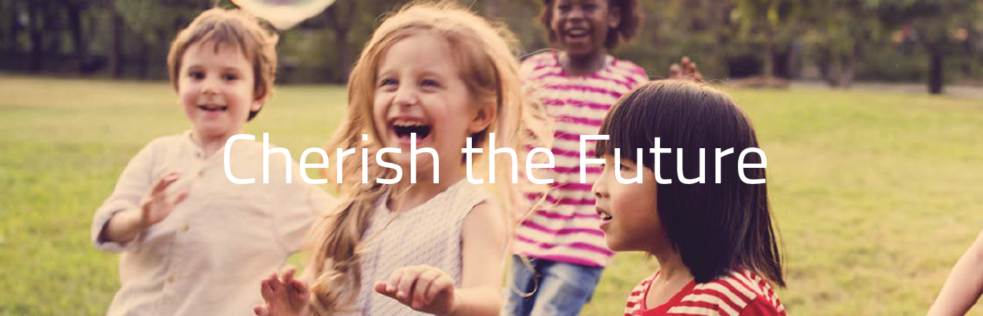Cherish The Future Website Banner